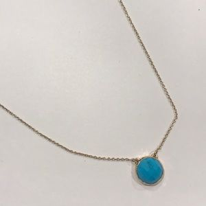 Stella & Dot Maya Brenner Turquoise Necklace